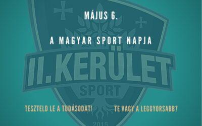 Sportmúlt kvíz május 6-án, a Magyar Sport Napján