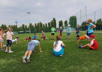 Pokorny sportos tábor